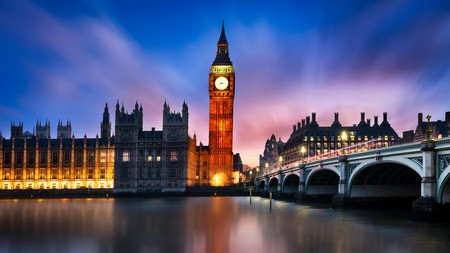 Big Ben remains one of the most iconic structures in London
