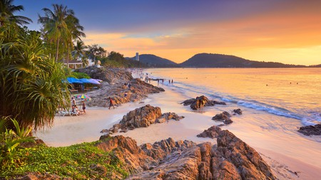 Sunset on Patong Beach is not to be missed