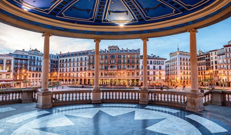 Treat yourself to a rejuvenating spa session in the beautiful city of Pamplona, Spain
