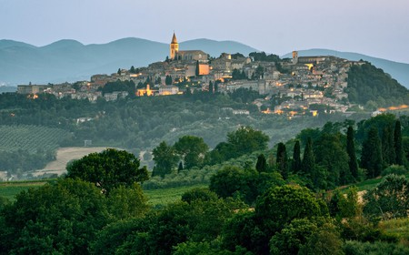 Italy's Umbria region boasts a wealth of medieval and historic resorts and villas for your delectation – with local artisan menus, wines and spa treatments