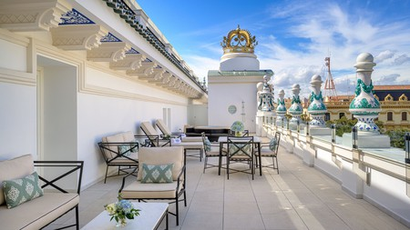 At the Gran Hotel Miramar in Málaga, you'll feel like you're in a palace