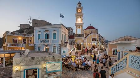Olympos is a charming village on Karpathos Island, Greece
