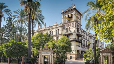 Even the hotels in Seville boast stunning architecture