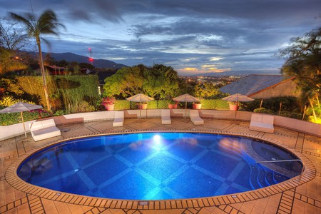 Enjoy the views of San José and Costa Rica's Central Valley from Hotel Alta Las Palomas