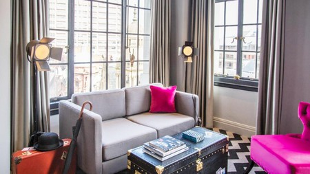 Hotel Gotham's decadent five-star experience includes a chauffeur for your shopping extravaganza