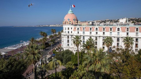 With over a century in business, the Hotel Le Negresco enjoys iconic status on Nice's Promenade des Anglais