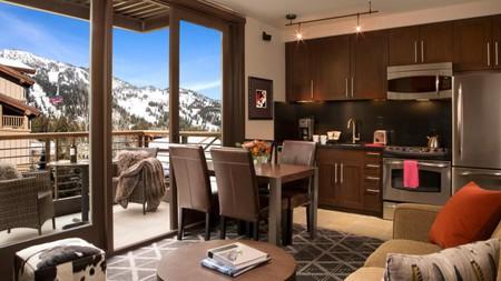 Enjoy majestic mountain views from Hotel Terra Jackson Hole