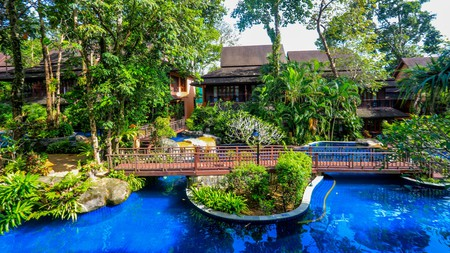 The Khaolak Merlin Resort has a set of pools you'll never want to leave