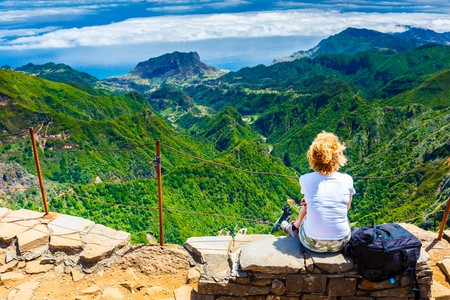The views from Pico do Arieiro, Madeira, are worth the hike up the peak