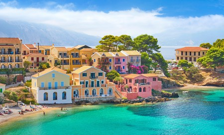 You'll find the beach you're looking for on the photogenic Ionian island of Kefalonia, Greece
