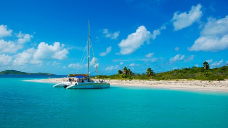 When visiting Fajardo, Puerto Rico, take a day trip to the beautiful Cayo Icacos