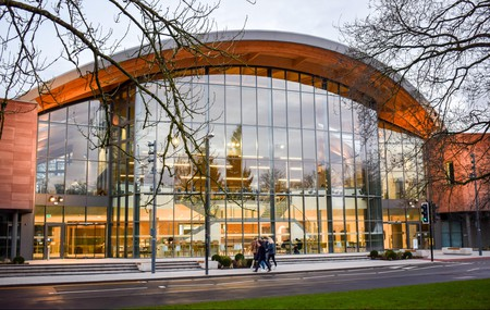 The Oculus Building is the flagship facility for teaching and learning at the University of Warwick, UK