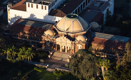 The Natural History Museum of Los Angeles County makes its home in Exposition Park