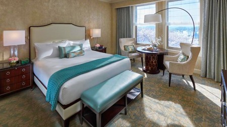 Stay in luxury at the Mandarin Oriental, Washington DC