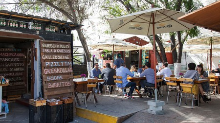 Telefónica Gastro Park has lots of different options for food and drinks in Tijuana