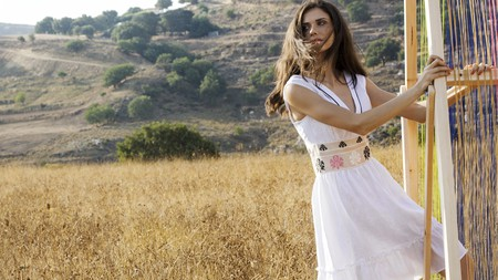 KLOTHO is one Greek brand which promotes slow fashion by using the traditional wooden loom