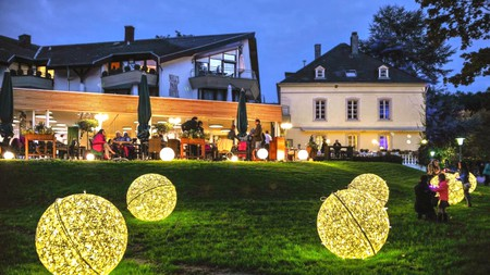 Nells Park Hotel lies in the oldest park in Trier, making for some beautiful surroundings