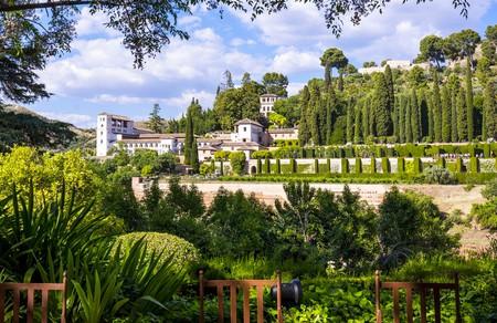 The Parador de Granada lies within the Alhambra complex