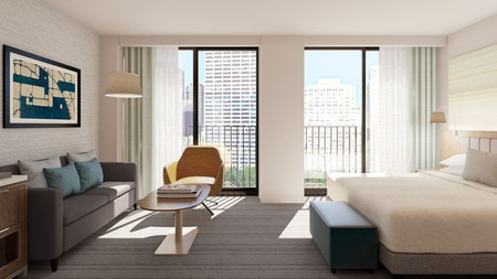 Park Terrace Hotel offers sumptuous views across Bryant Park and beyond