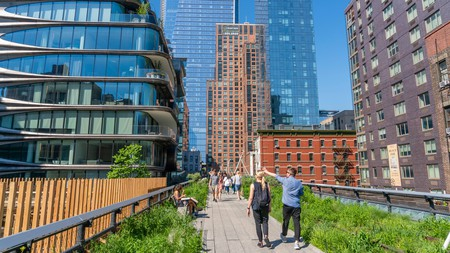 The High Line is one of New York City's most well-known reuse projects, making the Big Apple a little greener
