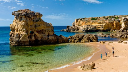 Praia dos Arrifes is an excellent destination for snorkelling