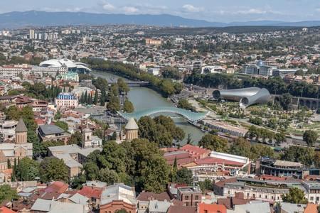 Tbilisi is the capital city of Georgia