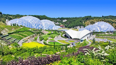 Eden Project is one of the UK's most stunning eco-attractions