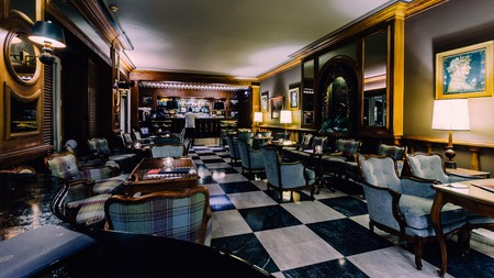 Bar Estoril, in the Hotel Palacio, was known as a gathering place for World War II spies