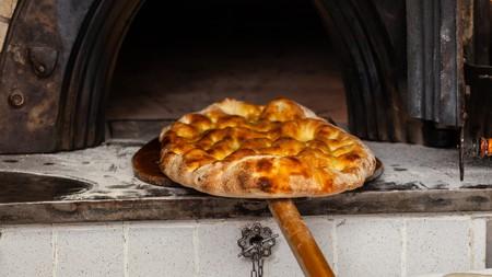Schiacciata is a delicious Tuscan treat similar to focaccia