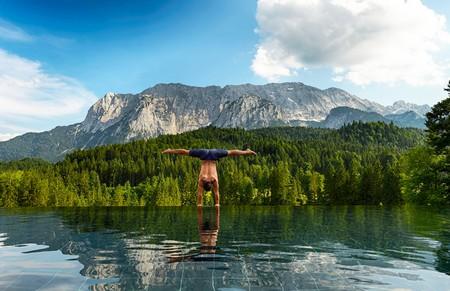 Schloss Elmau Luxury Spa Retreat & Cultural Hideaway sits amid lush Bavarian forest