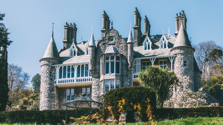 For a French-inspired stay in Snowdonia, book a room at Château Rhianfa