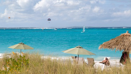Grace Bay Beach on the island of Providenciales is a popular destination