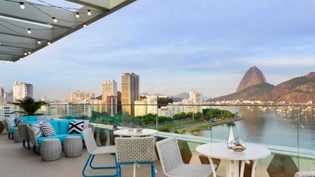 Yoo2 combines breathtaking Rio views with the social vibe of a hostel