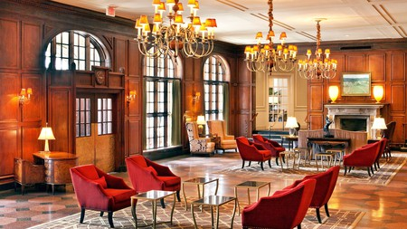 Old world luxury characterises stays at the Hotel Roanoke & Conference Center