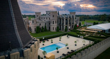 Feel like royalty at the Kentucky Castle in Versailles, Kentucky