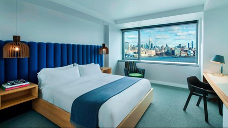 Visit New Jersey for a combination of endless coastline and nature parks and stay in a stunning hotel like the W Hoboken