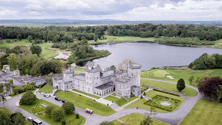 Enjoy sumptuous rooms and leisurely walks through woodland and gardens at Dromoland Castle