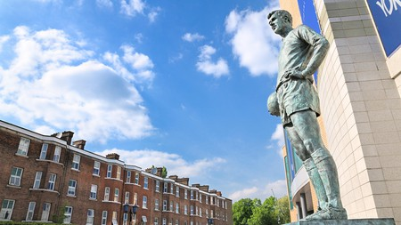 You'll find plenty of variety for accommodation around Stamford Bridge, Chelsea