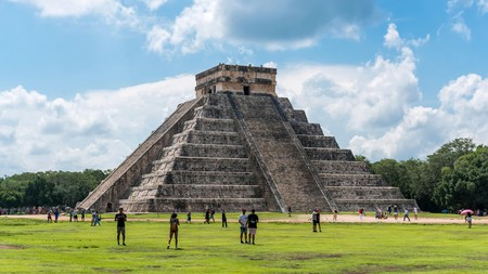 The Mayan pyramid of Chichén Itzá in Yucatán is a must-visit