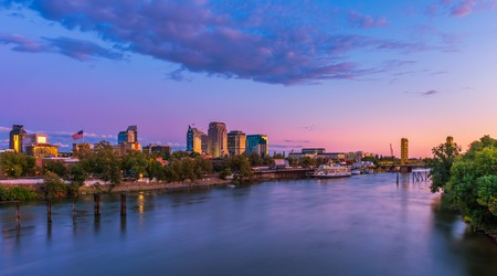 Don't miss these spectacular sunset views of the Sacramento River and Tower Bridge