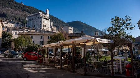 You're never too far from a unique bar in Gubbio, Italy