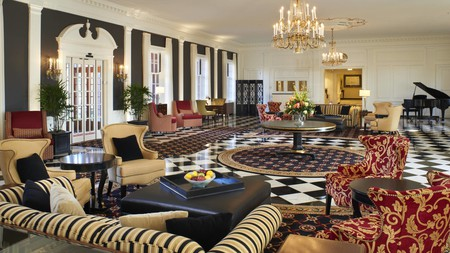 At the The Dearborn Inn, A Marriott Hotel, swish decor combines with a convenient locale