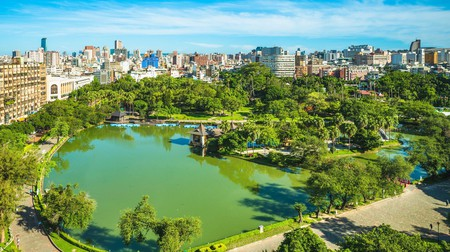 Get a flavour of Taichung with a stroll around the city and its gardens