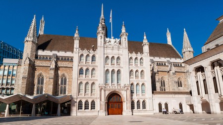 The 15th-century Guildhall is the City of London's main ceremonial building