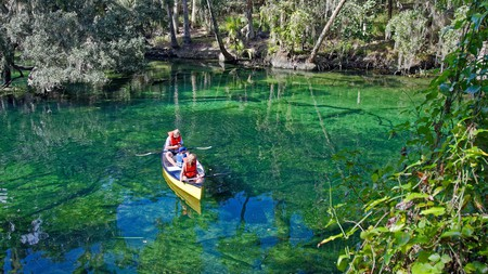 You'll want to stay close to Blue Spring State Park to maximize your time on the water