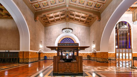 L.A.'s iconic Union Station is the focus of architectural tours given by the Los Angeles Conservancy
