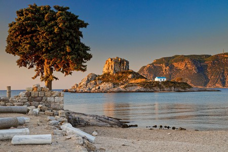 The photogenic beauty of places like Agios Stefanos Beach is just one of the reasons Kos is worth visiting