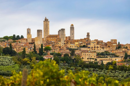 San Gimignano's skyline is famous for its many towers