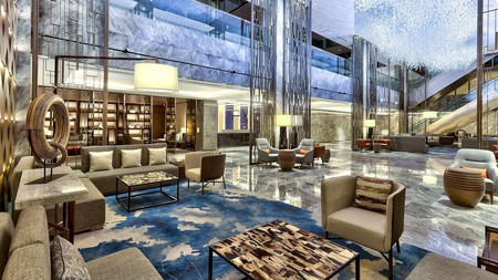 Luxury is the name of the game at the Hilton Kota Kinabalu