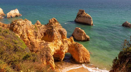 The coastline around Portimão is dramatic and rugged in its beauty